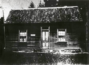 Birch's Bay Post Office c. 1853